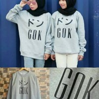 jaket wanita GOK Fleece Sweater