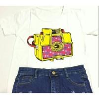 harga Women Tumblr Tee / T-shirt / O-neck / Cotton 30S / Camera / CAM-01 Tokopedia.com