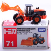 tomica takara tomy no 71 hitachi wheel loader ZW220