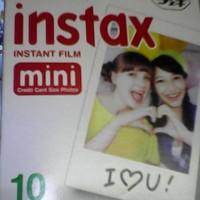Kertas Film Polaroid Polos Putih untuk kamera foto polaroid Fujifilm