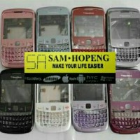 BB Blackberry 8520 Gemini Casing Fullset / Tulang Keypad Backdoor