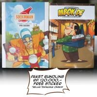 Komik Soekirman Pre Season & Komik Jamu Gendong Mbok De