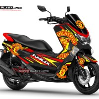 Yamaha NMAX Manchester United FC Livery