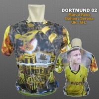 Jersey Marco Reus Dortmund / Jersey Dortmund 02 / Kaos Bola Dortmund