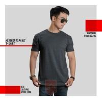 Jual Jual Kaos Polos / Kaos Oblong / O-Neck Bandung - Warna Heather Asphalt Murah