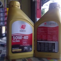 Idemitsu 4t 10w-40 - Semi-synthetic - Japan - 1 Liter - 100% Originale