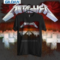 Kaos Band Original Gildan - Metallica Master Of Puppets