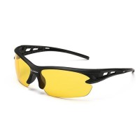 Kacamata Sepeda Mancing Anti Uv 400 Lensa Kuning Sunglasses 3105