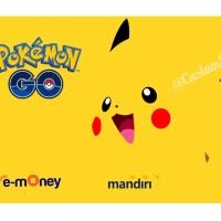 e-money e-toll bank mandiri emoney etoll pokemon go pikachu edition