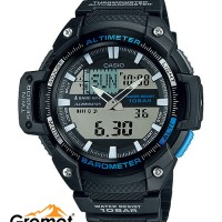 Jam Tangan Casio Outdoor SGW 450H 1A Thermometer Barometer Altimeter