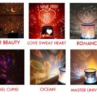 Proyektor TIDAK Putar Musik Star Beauty Planet Master Ocean Love Bulan