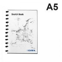 Buku sketsa A5 /sketch book LYRA