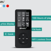 harga MP3 Ruizu X02 Like iPod Nano Internal 8GB + TF Card Support BLACK Tokopedia.com