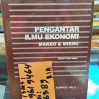 pengantar ilmu ekonomi makro dan mikro