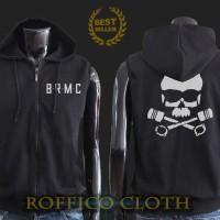 Vest Hoodie / Jaket Rompi 'Exclusive black rebel motorcycle club