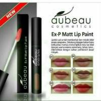 Aubeau Ex-P Matte Lip Paint / Lip Cream / Lipstick Cair