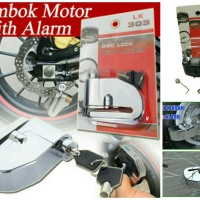 harga Gembok Cakram Alarm LK 303 Tokopedia.com
