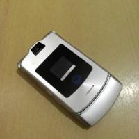 HP Motorola V3 Full Silver Normal Batangan