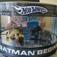 Hot Wheels Batmobile Batman Begins Tumbler Duo Limited Edition