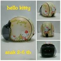 harga helm retro bogo anak motif hello kitty / helm sepeda Tokopedia.com