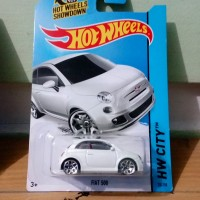 HOT WHEELS - Fiat 500