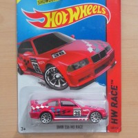 Hot Wheels BMW E36 M3 Race Red