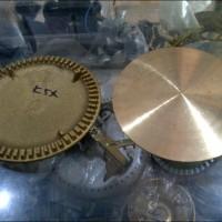 Burner Kompor Gas Qantum Kecil / Kuningan Kompor Gas Quantum Kecil