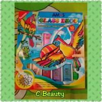harga Amos Glass Deco (10 Warna) ~ 1 Paket, Suncatcher, Mainan Anak Tokopedia.com