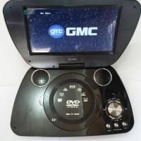 DVD TV PORTABLE GMC LAYAR 7inci GARANSI 1TH