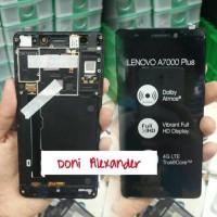 LCD + TOUCHSCREEN + BEZEL LENOVO A7000 + / A7000 PLUS COMPLITE ORIGINAL