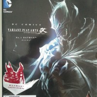 Play Arts Kai Batman DC Varian Red KWS Square Enix no BANDAI + Base