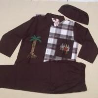 Baju Muslim |Baju Koko  Anak Laki laki 6 Tahun
