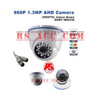New Cctv Ahd Avicom 1/4 Ic Sony 1,3 Mp Lens 3,6 Mm 24 Led Alu Doom
