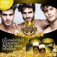 Glutagold (vitamin pemutih kulit wajah & tubuh no 1 di dunia)