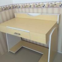 meja kantor HPL belajar besar bagus minimalis PROMO