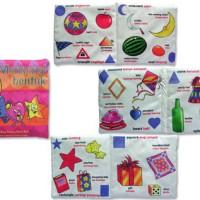 Mainan Edukasi Anak Bayi Balita, Buku Bantal Soft Book Mengenal Bentuk