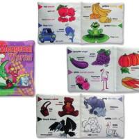 Harga mainan edukatif edukasi anak bayi balita buku bantal mengenal | WIKIPRICE INDONESIA