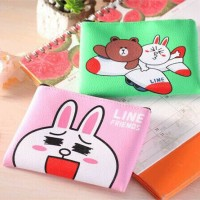 Dompet Line / Dompet Brown / Dompet Koin Brown / Dompet Koin Cony