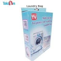 Laundry Bag Set 5 Wash Bag Laundry Net Bag Kantong Cuci Baju Dan Bra 1