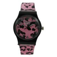 Jam Tangan Pria Sporty Time STX 1060 - Plastik Pink Dial Pink