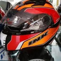 Helm INK CBR 600 Fullface Red Orange Fullface Visor CBR600