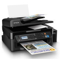 Printer Epson L565 All in One Print, Scan, Copy, Fax, Wi-Fi Original