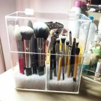 tempat kosmetik akrilik,acrylic box brush