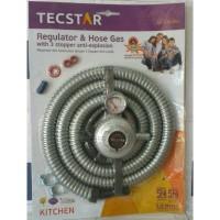 Tecstar Paket Selang Dan Regulator Tr 376srv Anti Bocor