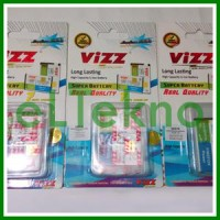 Baterai Vizz Samsung Galaxy Young Pocket Chat S5360 B5330 Double Power