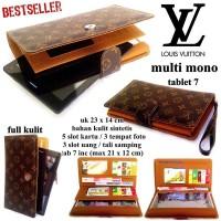 Jual Dompet Lv Tablet 7inc Mono Coklat Baru | Dompet Wanita Model Te