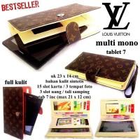 Jual Dompet Lv Tablet 7inc Mono Cream Baru | Dompet Wanita Model Ter