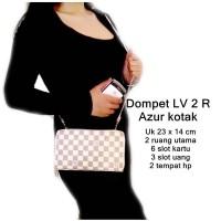 Jual Dompet Wanita Lv 2 R Azur Kotak Baru | Dompet Wanita Model Terb