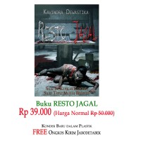 PROMO Novel Horor Resto Jagal Mendebarkan