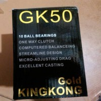harga Fishing Reel Gk50 Golden Fish Gold Kingkong Tokopedia.com